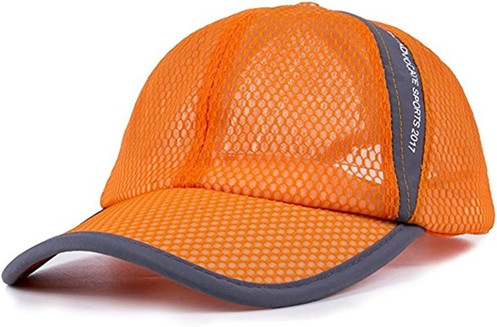 Breathable Net Cap Sun Hat Baseball Quick-Dry Ventilation Ou Luxury Daily bargain sale goods