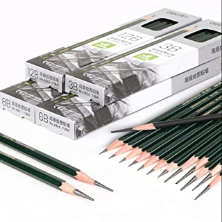 Newdoer - Lápices de dibujo (12 unidades), color 6B.