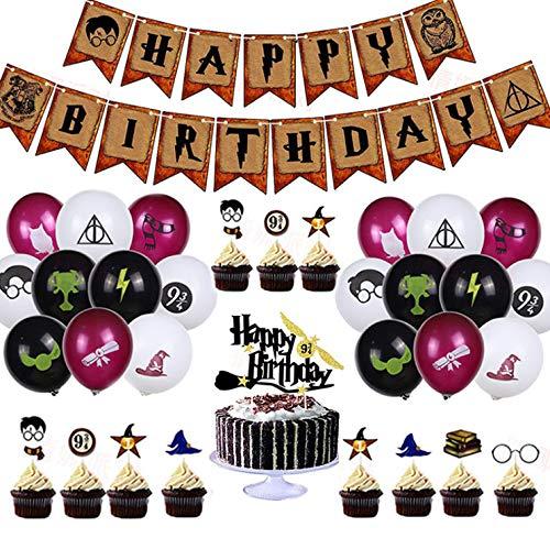 Cupcake Toppers Ballons,34 Pièce...