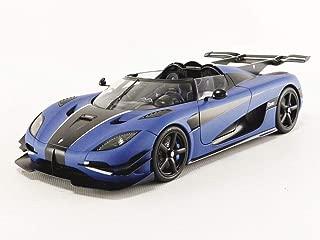 AUTOart 79018 1:18 Koenigsegg ONE : 1 (MATT Imperial Blue/Carbon Black/White Accents)