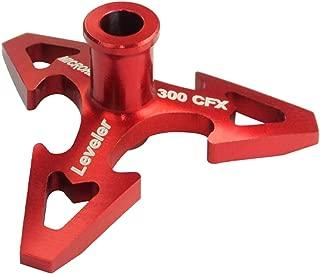 Microheli CNC Aluminum Swashplate Leveler (RED) - BLADE 300 CFX
