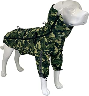 Crosses Hiking Waterproof for Dogs, Portable, Go Camouflage, Size 80 cm - 385 g