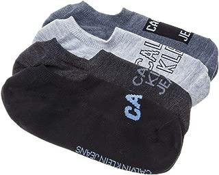 Calvin Klein 4 Pack Trainer Mens Socks Blue