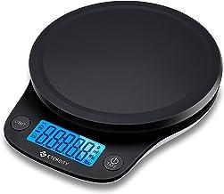 Etekcity Balance de Cuisine Numérique 5 kg/0.1g,Haute précision, 5 unités, Multifonction, Mesure du Liquide, Pesée du Lai...