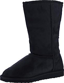 SODA Soong-S Comfort Boots, Camel Suede,