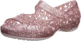 crocs Girl's Isabella Flower Flat Fashion Sandals