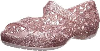 Girls' Isabella Flower Flat Ballet, Barely Pink,