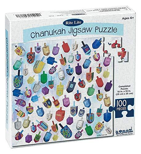 Hanukkah Puzzle 100 Piece Chanukah Jigsaw Puzzle