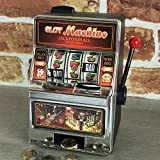 Global Gizmos 140.081 cm Mini Arcade One Armed Bandit Slot Fruit Maschine Spardose Spielzeug