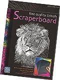 ESSDEE Bristish Scraperboard 305 x 229 mm, Confezione da 5 Fogli