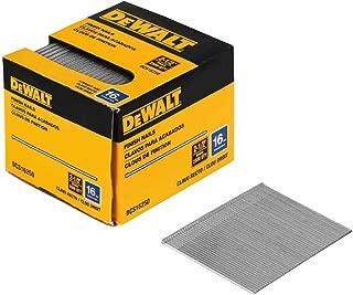 DEWALT DCS16200 2-Inch by 16 Gauge Finish Nail (2,500 per Box)