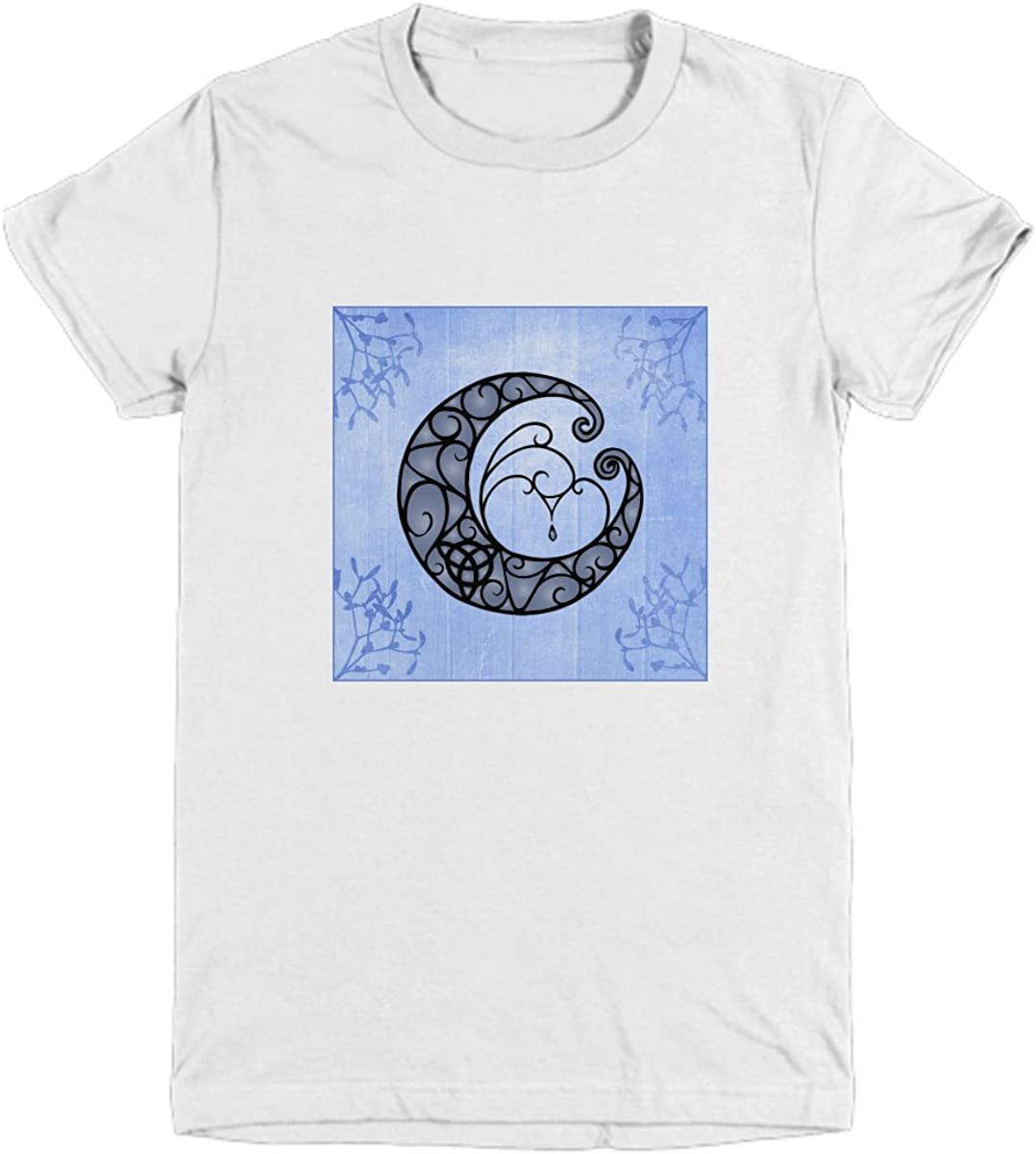 Youth Tee with Crescent Moon and Low price Backdr Trinity on Knot Year-end gift Flowered