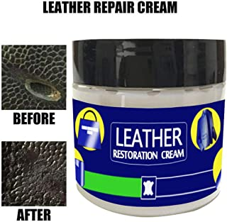 NszzJixo9 Leather Repair Filler Compound for Leather Restoration Cracks Burns & Holes for Dry, Cracked, and Scratched Leather