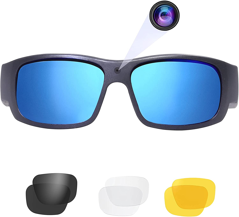 OhO Sport 5 popular Video Sunglasses 1080P Full Purchase Camera Recording HD