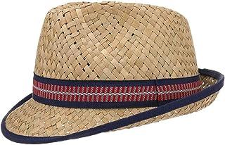 Lipodo Trilby in Paglia Cappello per Bambini Larino - Cappello da Sole - Prodotto in Italia - Trilby 49-55 cm - Cappello d...