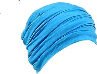 Women Bamboo Chemo Beanie Sleep Cap Turban Hair Loss hat Headwrap Cotton Jersey