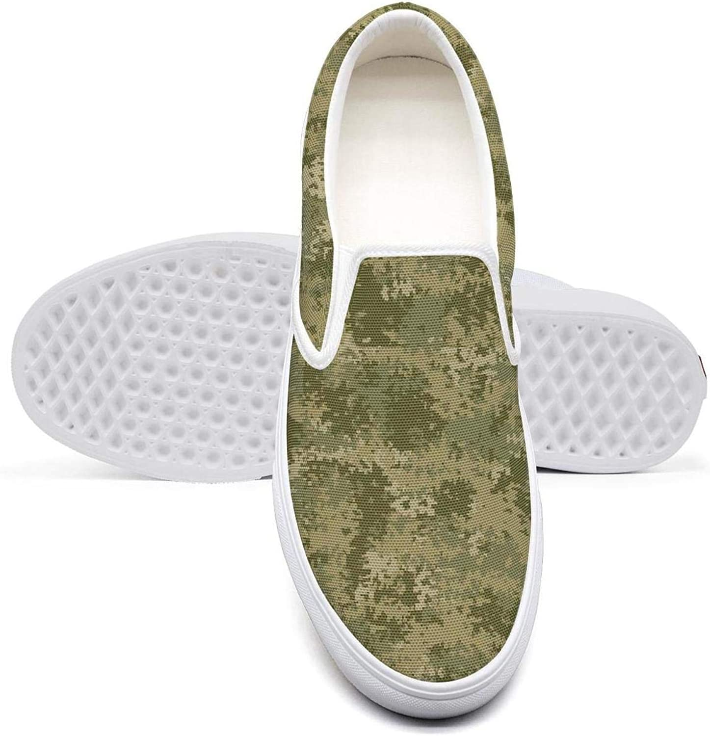 OIPVBDSEXZ Leaf Desert camo Women Casual Sneaker Fashion shoes Breathable Walking shoes