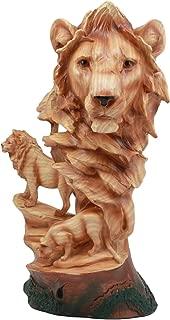 Ebros African Savanna Safari Lion Bust Statue 13