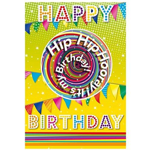 Susy Card verjaardagskaart Slinger.