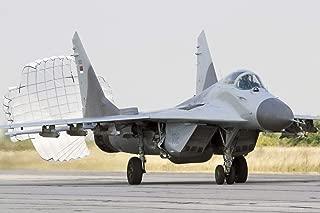 Stocktrek Serbian Air Force MiG-29 with Brake Chute Deployed Wall Decal 16