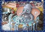 Bhgfdlbf Pintar por Numeros Adultos Niños Principiantes Kits de Pintar Acrílica ,DIY Pintura Al Óleo ,Decoración del Hogar,Elefante 40 X 50 Cm con Marco