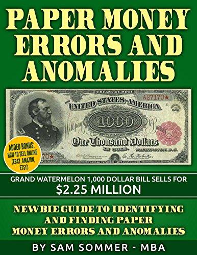 Paper Money Errors and Anomalies: Newbie Guide To Identifying...