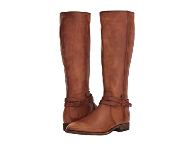 Frye Melissa Belted Tall (Light Cognac) Women