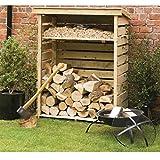 Rowlinson LOGSML1, Natural Timber, Small Log Store