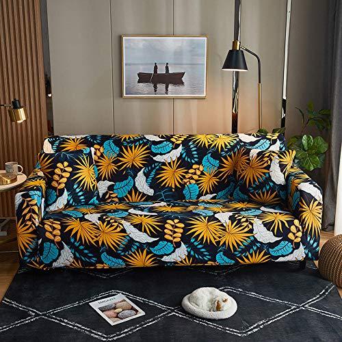 Funda Elástica para Sofá,Funda de sofá de Esquina Fundas de sofá elásticas para Sala de Estar, Funda de sillón Sofás con Chaise Longue-B 3 plazas 190-230cm (1pcs)