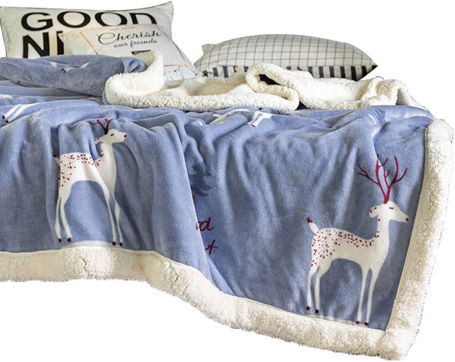 YULAN Blankets El Paso Mall Flannel Winter Blanket Thick Warm Finally popular brand Lambskin Quilt