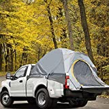 ZCY Tienda de campaña para camionetas, para acampar al aire libre, tienda de campaña de pesca, carpa de coche, tamaño completo, cama regular