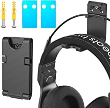 OIVO Hoofdtelefoon Muursteun, Hanger, Opgewaardeerd met kabelsleuf & rotable Design- 1 Pack