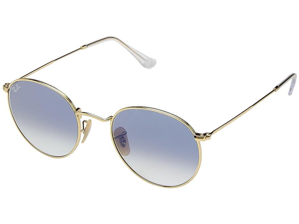 Ray-Ban RB3447 53mm (Arista Gold/Light Blue Gradient) Fashion Sunglasses