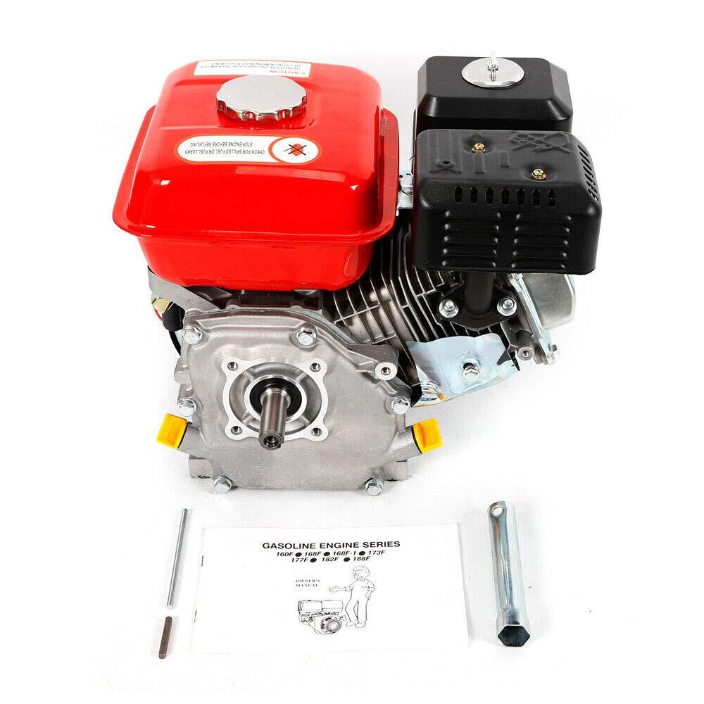 DiLiBee 7.5HP BenzinmotorMotor Kart 4 Industrienzakt ZT210 DHL