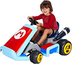Nintendo Super Mario Kart Deluxe Ride-On with 12V Battery Power