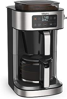 Krups Cafetière filtre Aroma Partner, Bac à café hermétique intégré, Dosages automatiques et précis grâce au système de le...