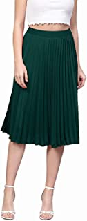 fp Fashion piya New American Crepe Pleated Women Skirt