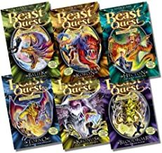 Beast Quest Series 8 Collection - 6 Books RRP £29.94 (43. Balisk the Water Snake; 44. Koron, Jaws of Death; 45. Hecton the Body Snatcher; 46. Torno the Hurrican Dragon; 47. Kronus the Clawed Menace; 48. Bloodboar the Buried Doom)