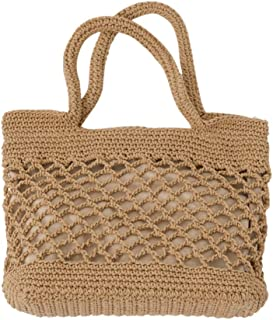 Amazon.es: bolso a crochet - Marrón