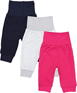Schnizler Baby Pump-Hose mit Sternen-Muster aus Fleece schadstoffgepr/üft bequeme Kinder-Hose mit elastischem Strick-Bund