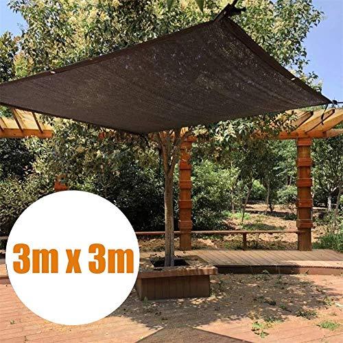 Dedeka Malla Sombreadora Sun Net Negro,Toldo Rafia Resistente a los Rayos UV, Sun Shade Net,Malla Negra Resistente de protección Solar para Piscina,Invernadero,Techo