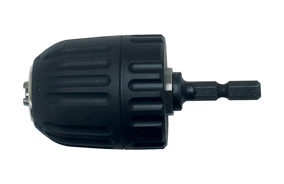 増幅器派生するアリスパオック(PAOCK) Power sonic(パワーソニック) キーレス六角軸ドリルチャック KLD-10 チャック能力:10mm シャンク:6.35mm軸