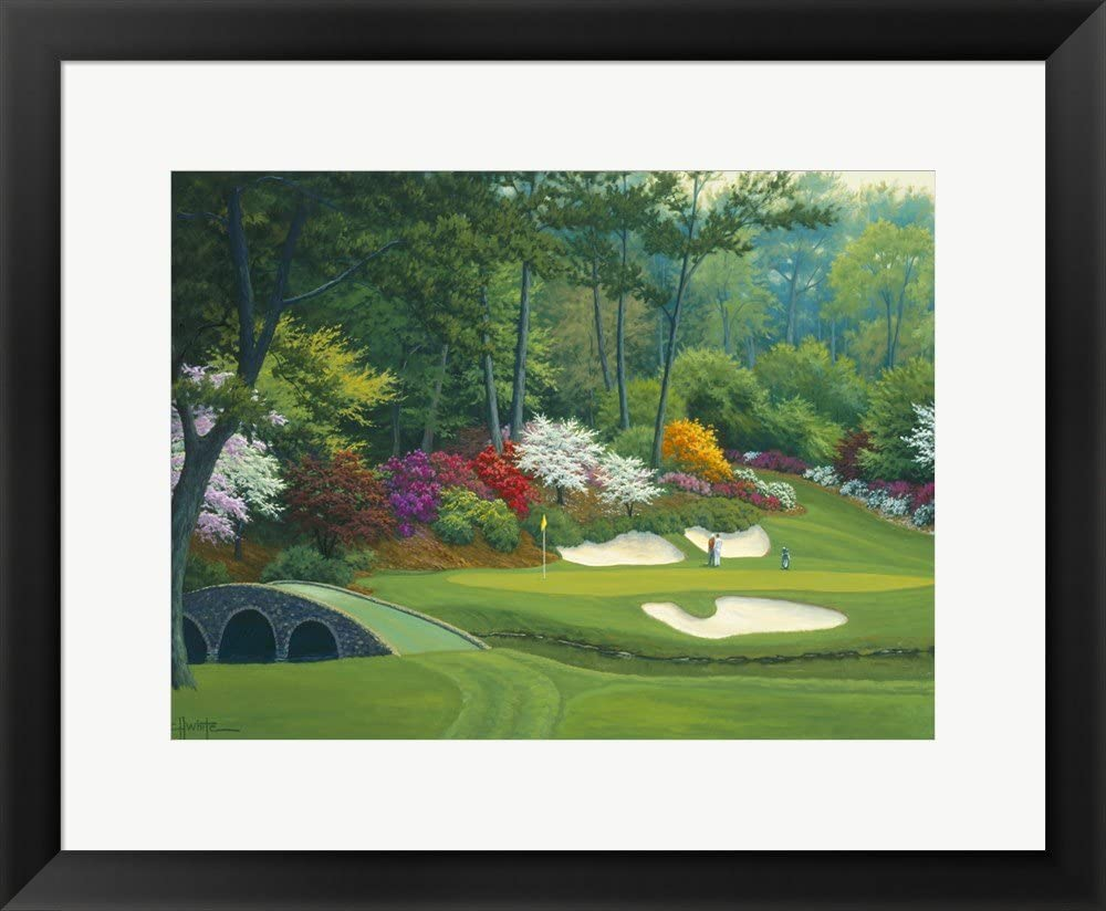 Augusta on Outlet ☆ Cheap mail order specialty store Free Shipping The 12th Hole by Framed Print Charles White Art Wall