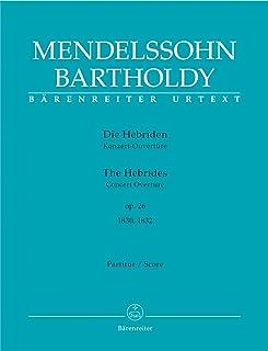 The Hebrides Op.26 Concert Overture (Full Score)