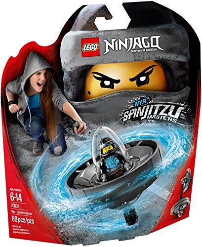 LEGO Ninjago 70634 - Spinjitzu-Meisterin Nya, Cooles Kinderspielzeug