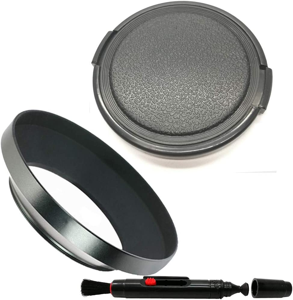 Balaweis 37mm Metal Wide Angle Lens 5 popular Cap + DSL Hood 2021 autumn and winter new 58MM for