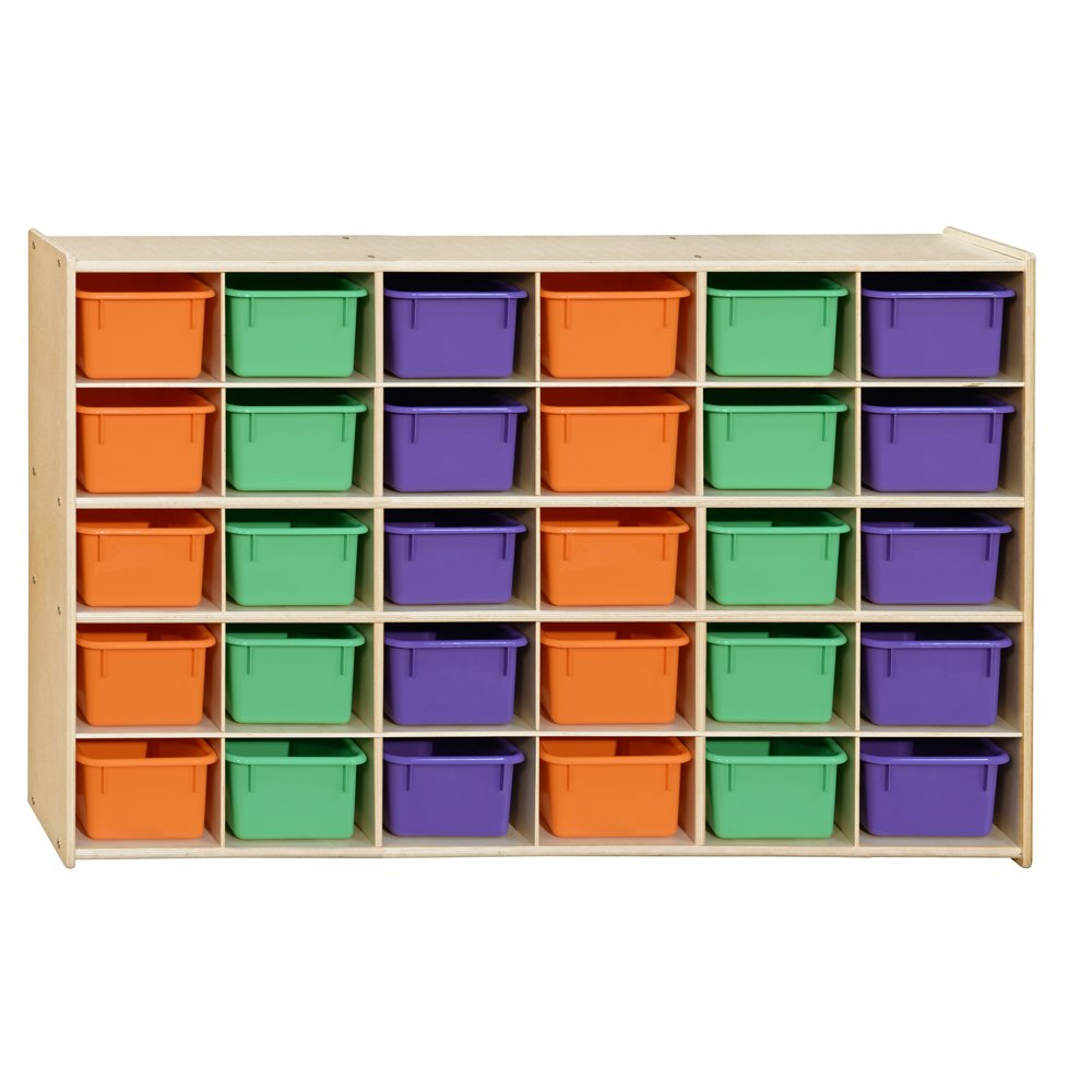 Contender Direct stock discount Kids 30-Cubby Storage Box S Pastel Don't miss the campaign Assorted with Bins