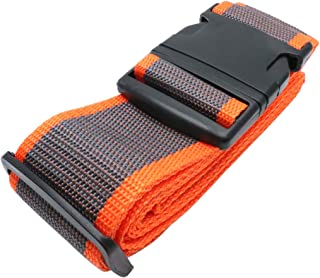 Yootop Luggage Strap for Suitcase, Grey & Orange (Brown) - CW1905280076