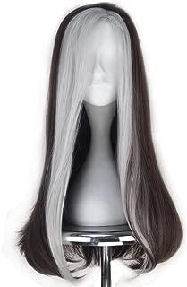 Miss U Hair Long Wavy Women Brown Silver Party Hair Movie Cosplay Costume Wig C288