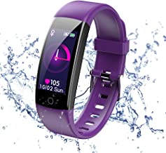 ISZPLUSH Fitness Tracker, Activity Tracker Watch with Heart Rate Monitor, Waterproof Fitness Smartwatch with Step Counter,...